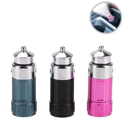 LED Car Cigarette Lighter Vechicle Charging Flashlight Torch LAMP