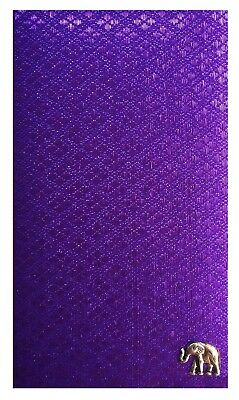 Purple Check Presenter for Restaurant Server Book for Waitress Server Pad
