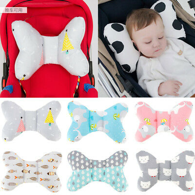 US New Baby Pillow Prevent Flat Head Memory Foam Infant Cushion Sleeping Support