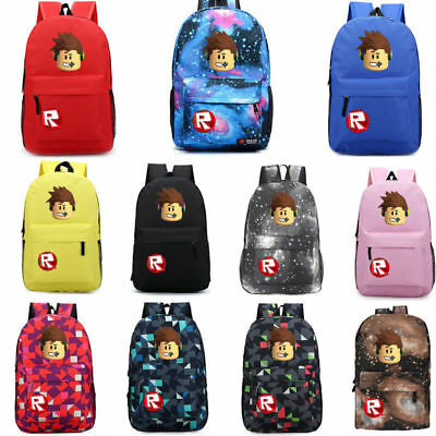Roblox Backpack Kids School Bag Students Boys Book bag Lunch bags New Semester