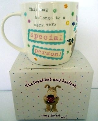 """""""boofle"""" China Mug """"very Special Person! Xxx"""" Gift Boxed! Cute Christmas Gift!"""