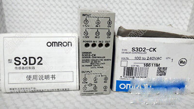Omron S3D2-CK-US Sensor Controller 100-240VAC 50//60Hz 10mA One-Shot ON//OFF Delay