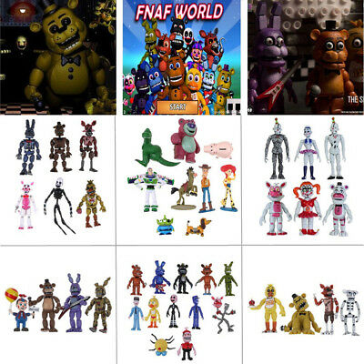 4-12Pcs/Set  Kids Five Nights at Freddy's Funny Cute Action Figure Toy Gifty New