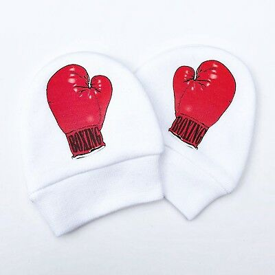 Boxing Gloves No Scratch Baby Mittens, Newborn Baby Gifts, Hospital Gloves Mitts