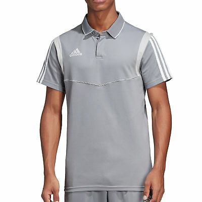 adidas Performance Tiro 19 Cotton Polo grau - Herren Polo-Shirt DW4736