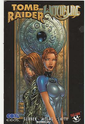 TOMB RAIDER WITCHBLADE SPECIAL - TOP COW IMAGE COMICS - 1st PRINTING N/M RARE US
