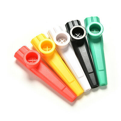 2X Plastic Kazoo Classic Musical Instrument For All Ages Campfire Gatherings BC