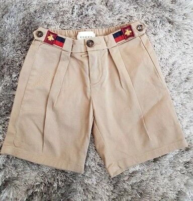 *** GUCCI Boys Shorts 36 MONTHS (3 Years) ***