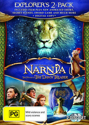 The Chronicles Of Narnia: The Voyage Of The Dawn Treader - New DVD Region 4