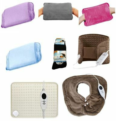 New Rechargeable Electric Hot Water Bottles Hand Warmers Heat Pads Heating Pad