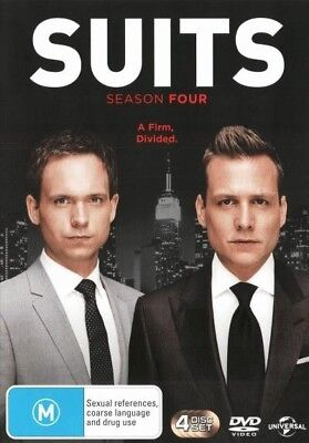 Suits: Season 4 = NEW DVD R4