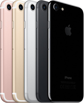 Apple iphone 7 32GB 128GB 256GB Schwarz Gold Silber Rot Jetblack Rosegold