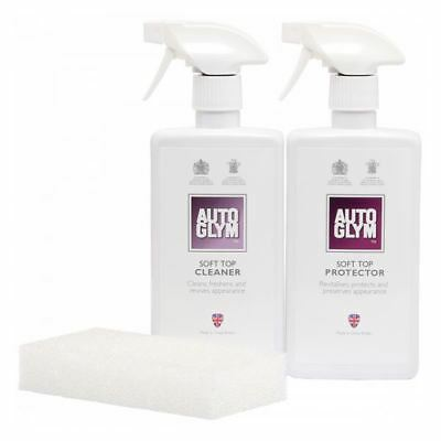 Autoglym Car Care Convertible Soft Top Clean and  Protect Complete Kit