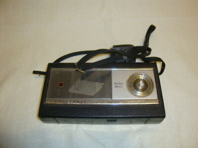 VINTAGE 1967 PANASONIC Radar Matic R-1020 AM 10 TRANSISTOR RADIO FOR PARTS
