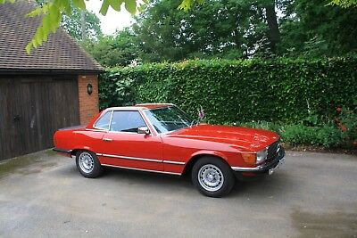 Mercedes 280 SL Auto, 1983.  Stunning low mileage example with hard and soft top