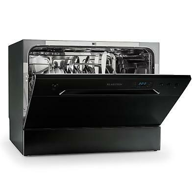 Compact Pro Electric Dishwasher Machine 1380W Free Standing Powerful Cleaner