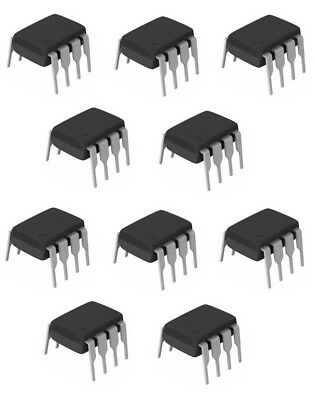 NE555P - 10 Pack - Texas Instruments 8 Pin DIL Timer Chip **UK SELLER**