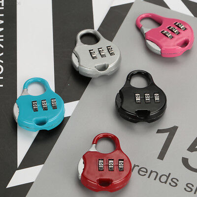 446A Premium Luggage Travel Keyless Lock Resettable Code Padlock Outdoor
