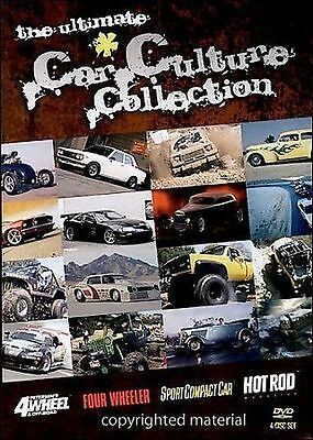 Car Culture Collection 4 Pack (DVD, 2005 4-Disc Set) Brand New & Factory Sealed