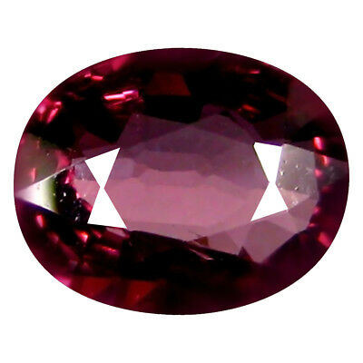 1.54 Ct AAA+ Attrayant Forme Ovale (8 X 6 mm) Rosé Rouge Grenade Rhodolite