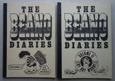 Beano Diaries Superb Beano Comic Reference Guides 1991 GD (phil-comics)