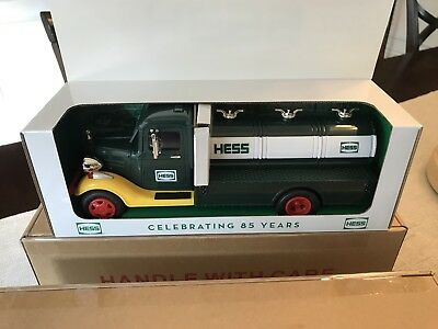 HESS COLLECTOR'S EDITION 85th Anniversary 1st HESS TRUCK 2018- Sold Out! NEW!