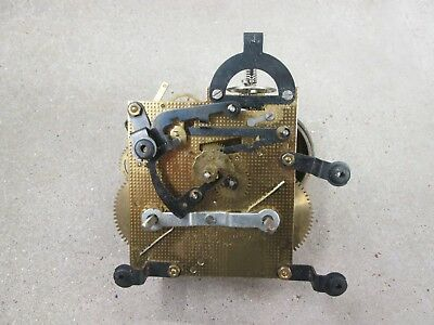 """New Old Stock"" Urgos Ting Tang, 2 Bell Chime, Mantel Clock Movement, UW 20/8"