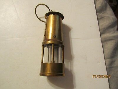 Vintage Protector Solid Brass Lamp by Eccles England