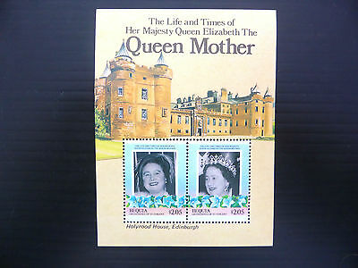St VINCENT GRENADINES Bequia Wholesale 1985 Queen Mother M/Sht x 50 U/M FP1199