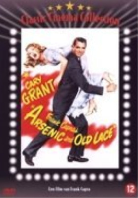 Arsenic and Old Lace - Dutch Import (UK IMPORT) DVD NEW