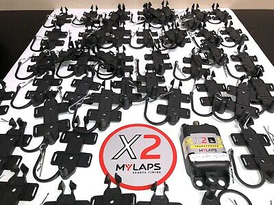 MYLAPS X2 Transponder Holder & Clip New Not a Copy- From MyLaps