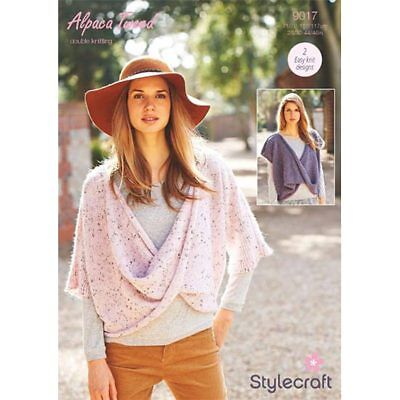 a4d8d097f STYLECRAFT 9212 KNITTING Pattern Cardigans in Stylecraft Alpaca ...