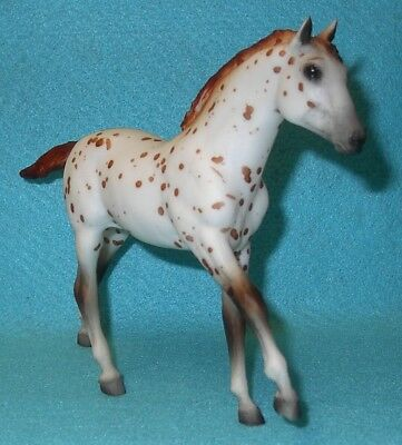 Breyer Traditional Chestnut Leopard Action Stock Horse Foal #810 Vgc 89-93 #2
