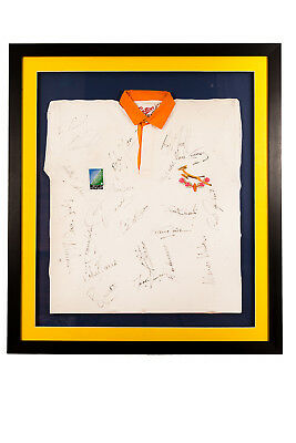 Rare South Africa Rugby World Cup Signed Jerseys (1995 & 2007)