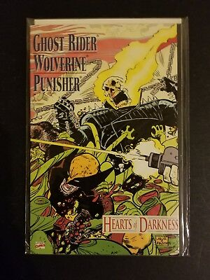 Hearts of Darkness #1 (1991, Marvel) Original Owner!