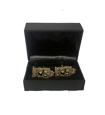 Alpha Phi Alpha Fraternity Crest Cuff Links-New!
