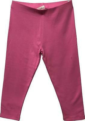 PRE-OWNED Girls Next Hot Pink Plain Legging Trousers Size 7 Years