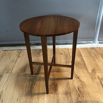 Danish Teak Folding Side Table  3 Available Can Post