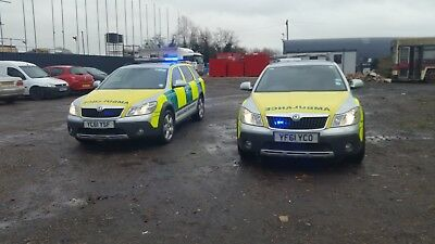 Ambulance Skoda Scout Automatic 4X4 Rrv 2012 Choice Of 2  Only  99,000 Miles