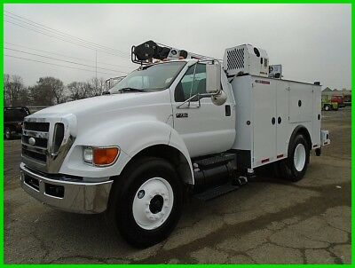 2009 Ford F750 XL Service Truck Used