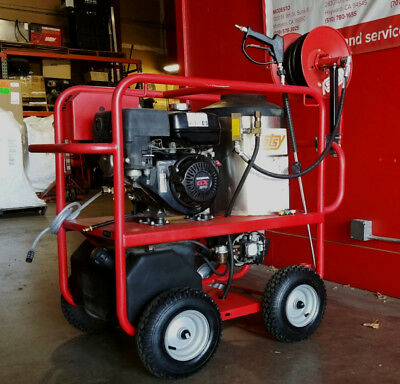 Used Hotsy 965ss Gas Engine Hot Water Pressure Washer (1.110-015.0)  (2)