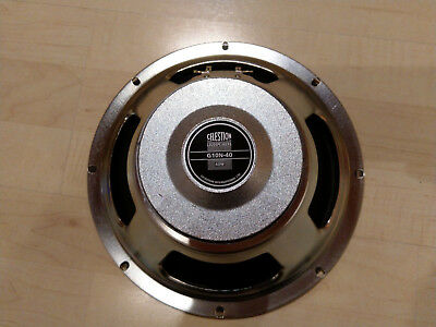 Celestion G10N-40 N40 8 Ohm Top-Zustand 10Zoll