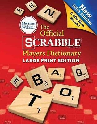 Official Scrabble Players Dictionary, Paperback by Merriam-Webster (COR), ISB...