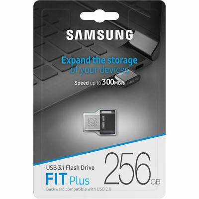 Samsung 256GB FIT Plus USB 3.1 Gen 2 Type-A Flash Drive - Max. Read: 200MB/s