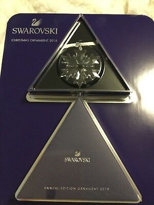 Swarovski Crystal Annual Edition Christmas Clear Snowflake 2018 (Large)