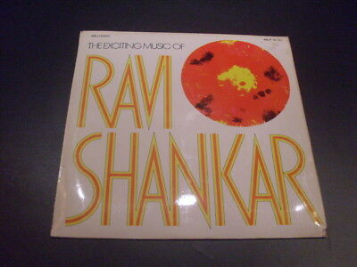 The Exciting Music Of Ravi Shankar (Schallplatte / LP / Melodisc Records 1963)