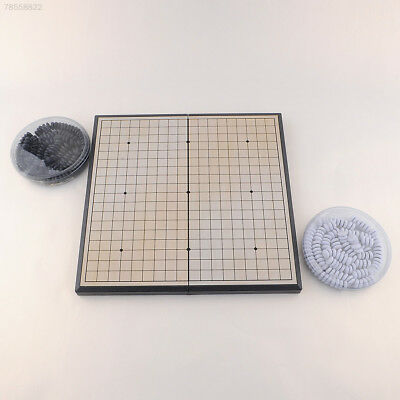 F049 Quality Foldable Game of Go Go Board Game WeiQi Full Set Stone 19x19 Study