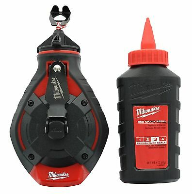 Milwaukee 48-22-3986 100' Bold Line Chalk Reel