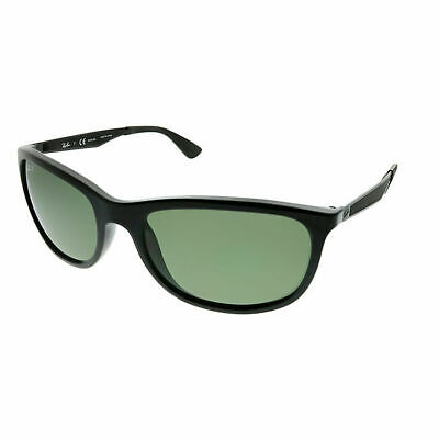 6152cecb58 Ray-Ban RB 4267 601 9A Black Plastic Sport Sunglasses Green Polarized Lens