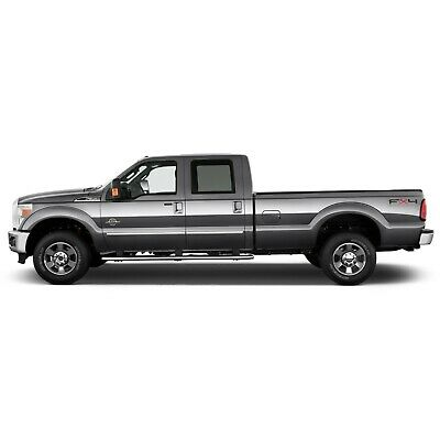 FORD F-350 SD EXT CAB 2017-2019 PAINTED BODY SIDE Moldings TRIM Mouldings For
